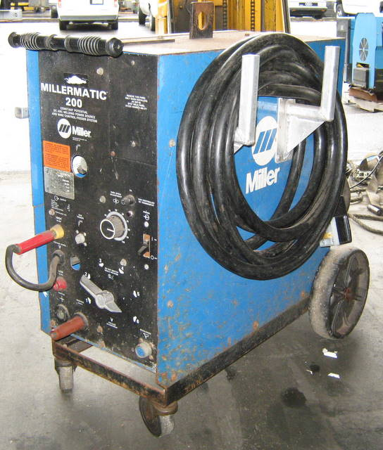 mig welder for home garage projects pelican parts forums rh forums pelicanparts com old miller welders manual Old Airco Welders